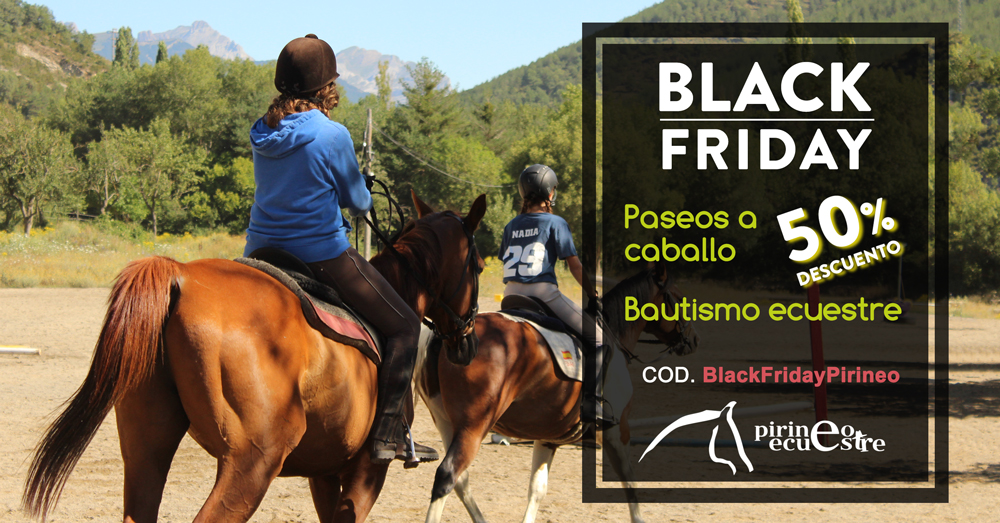 black friday pirineo ecuestre