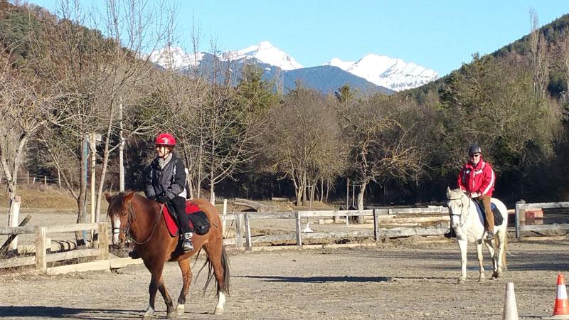rutas a caballo pirineo
