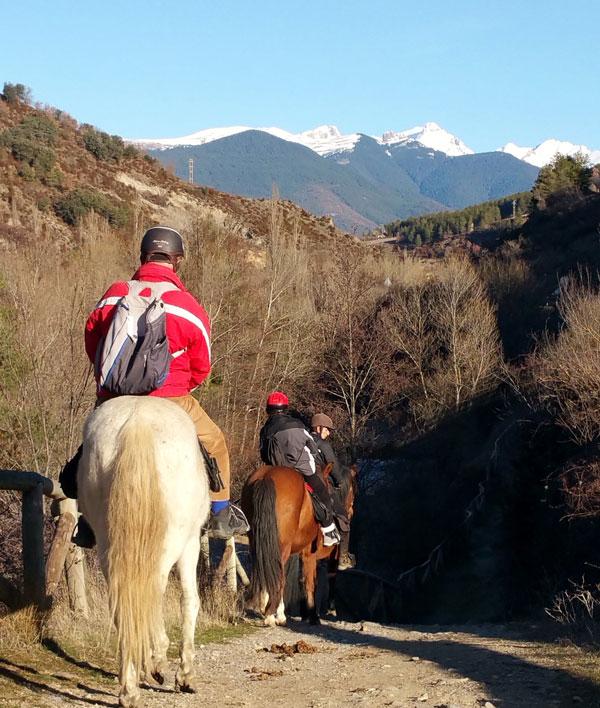 paseos a caballo en jaca