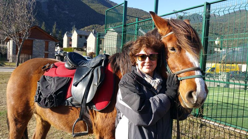 paseos a caballo en jaca huesca