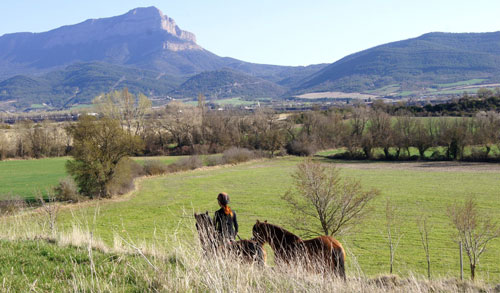 paseo a caballo fin de semana jaca pirineo