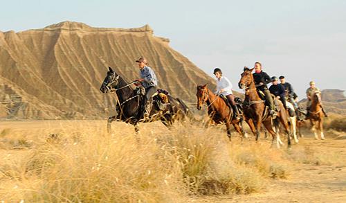 ruta caballo bardenas
