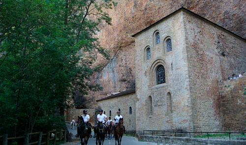 ruta santo grial a caballo