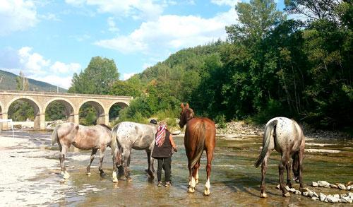 ruta a caballo fin de semana jaca