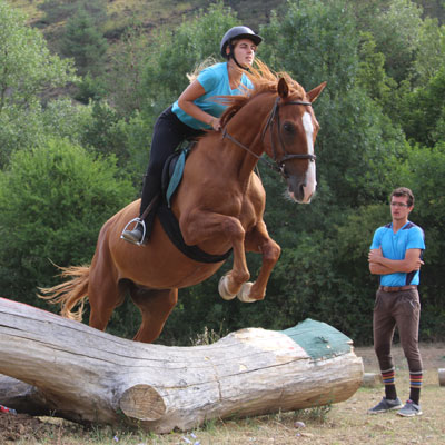 clases de equitacion pirineo ecuestre