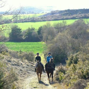 rutas a caballo pirineo ecuestre jaca