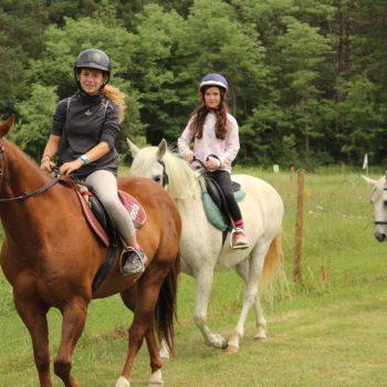 Paseos a caballo de 1 o 2 horas en Jaca