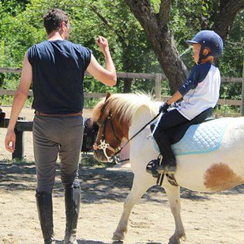 actividades con niños en jaca ponis