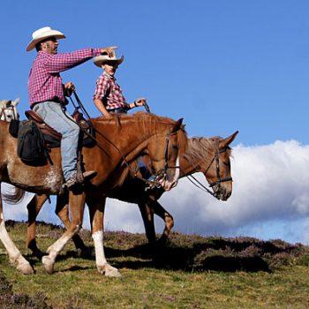 ruta a caballo transhumancia