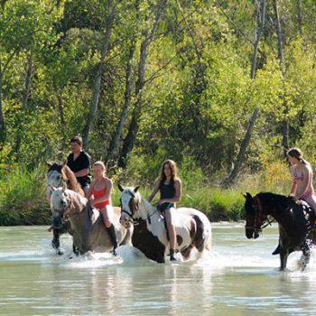 ruta a caballo alto aragon