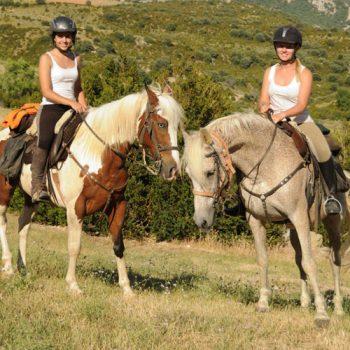 ruta a caballo por el alto aragon