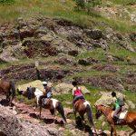 a caballo por el pirineo aragones