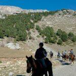 ruta a caballo por los pirineos