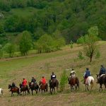 ruta de una semana a caballo por el pirineo