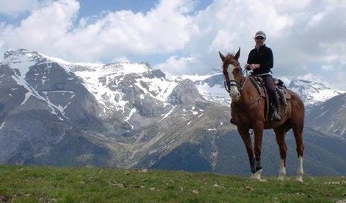 ruta a caballo descubriendo el pirineo