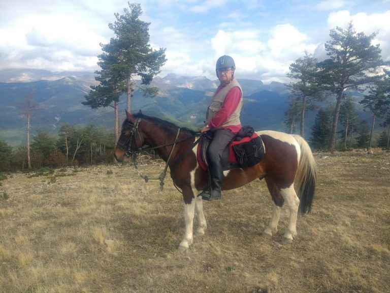 montar a caballo en el pirineo