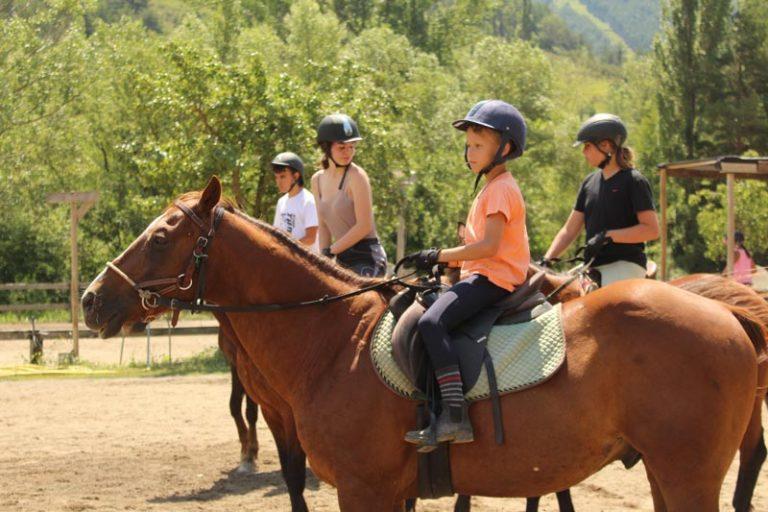 clases extraescolares equitacion jaca