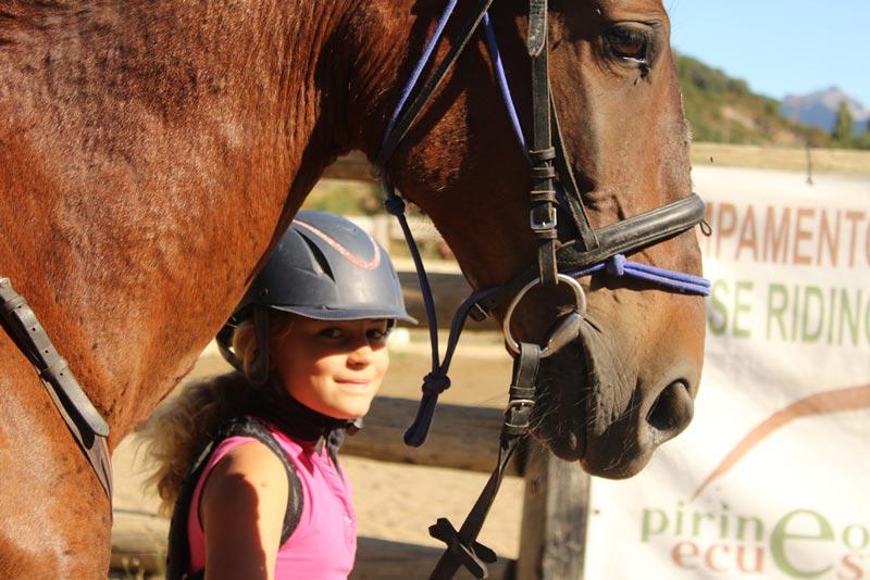 campamentos de equitacion navidad