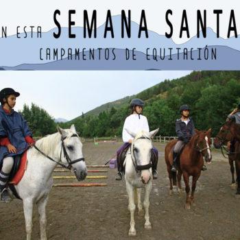 campamento semana santa equitacion