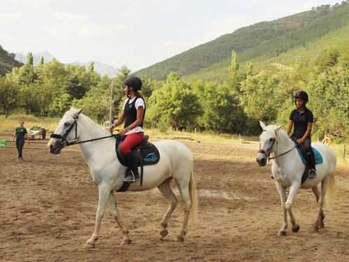 clases de equitacion jaca